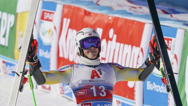 Lucas Braathen zwycięzcą inauguracji sezonu w Soelden