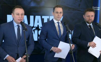 Platforma Obywatelska składa zawiadomienie w sprawie Kaczyńskiego