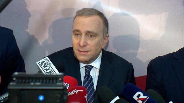 Lider PO: partie nie powinny być w pierwszej linii projektu Koalicji Europejskiej