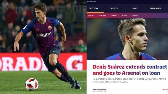 1d795723e Denis Suarez wypożyczony z Barcelony do Arsenalu | Eurosport w TVN24