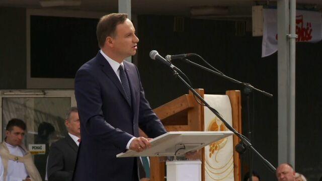 Duda: Polska nie jest państwem sprawiedliwym, w którym obywatele traktowani są równo