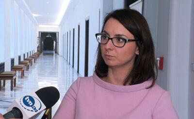 Gasiuk-Pihowicz o prezydenckich konsultacjach ws. zmiany konstytucji