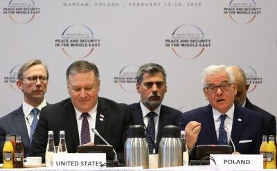 Czaputowicz na otwarciu konferencji: osobne miejsce poświęcimy przemyśleniom na temat stanu i perpspektyw procesu pokojowego