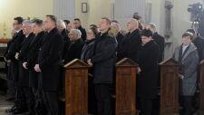Uroczystości pogrzebowe Jana Olszewskiego - msza żałobna w Warszawie