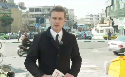 Konferencja w Warszawie. Relacja wysłannika TVN24 z Teheranu