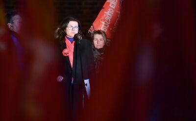 Aleksandra Dulkiewicz na Światełku dla Prezydenta. Całe przemówienie