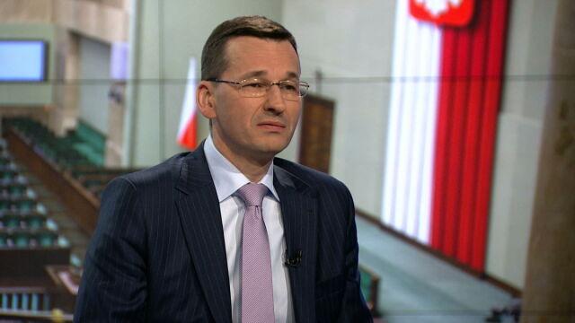 """Mateusz Morawiecki był gościem """"Faktów po Faktach"""""""