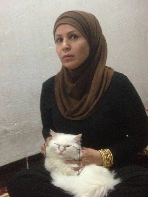 Właścicielka z Kunkushem w Mosulu