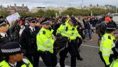 Zatrzymano 276 osób podczas protestu klimatycznego w Londynie