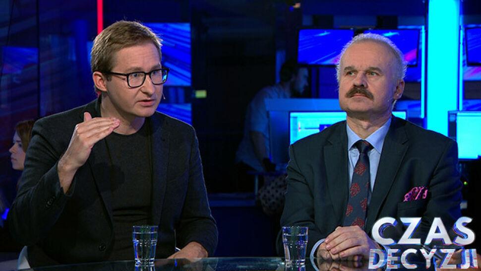 Sławomir Sierakowski i Waldemar Paruch komentowali pierwsze sondażowe wyniki wyborów