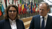 Małgorzata Kidawa-Błońska spotkała się w Brukseli z Donaldem Tuskiem