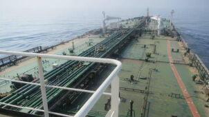 Irański tankowiec na Morzu Czerwonym stanął w ogniu.