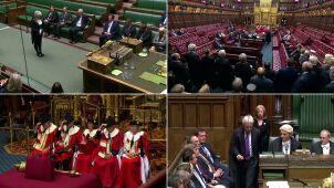 Parlament zawieszony do mowy tronowej