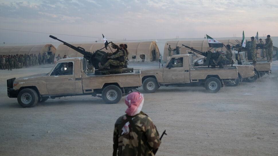 Turecka ofensywa w Syrii. Doniesienia o pierwszych ofiarach