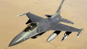 Amerykański F-16 rozbił się w Niemczech
