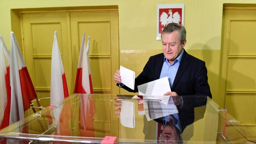 Gliński kończy wyborczy wyścig na trzecim miejscu w Łodzi