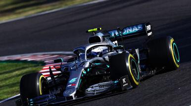 Świetny start Bottasa zdecydował w Japonii. Mercedes z szóstym tytułem konstruktorów