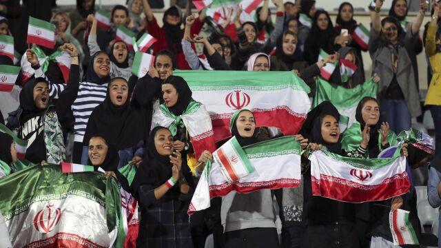 Kobiety czekały na taki mecz 40 lat. Historyczny dzień w Iranie