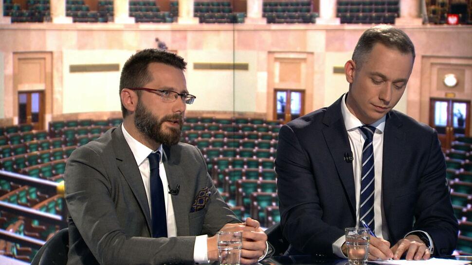 """Radosław Fogiel i Cezary Tomczyk w """"Faktach po Faktach"""""""
