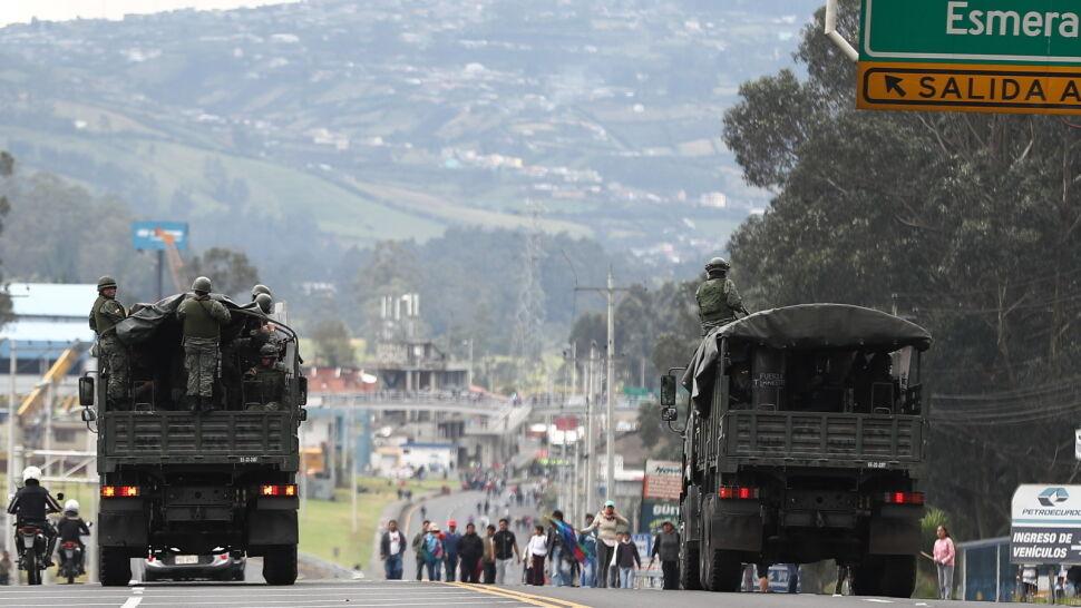 Dziesiątki rannych w Ekwadorze. Blisko 500 osób zatrzymanych