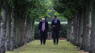 Boris Johnson i premier Irlandii