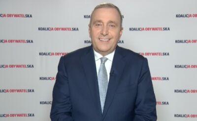 Grzegorz Schetyna: jesteśmy przed wiedzą o wynikach do Senatu