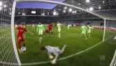 Skrót meczu Wolfsburg - RB Lipsk w 16. kolejce Bundesligi