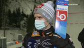 Granerud po konkursie drużynowym w Lahti