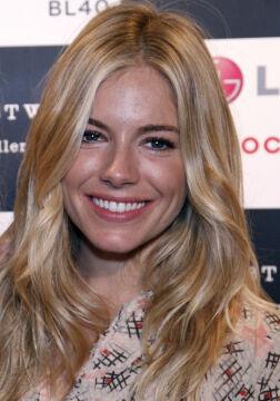 Sienna Miller to jedna z wielu byłych blond-dziewczyn Leo