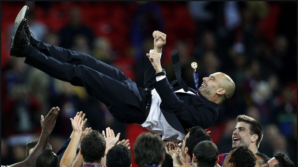 Stoiczkow umniejsza zasługi Guardioli na ławce Barcelony