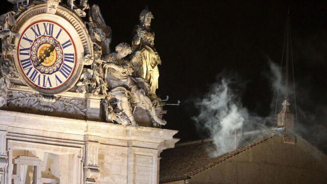 Nad Kaplicą pojawił się biały dym