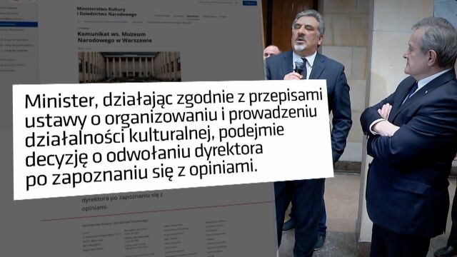 Ministerstwo Kultury rozważa zwolnienie Jerzego Miziołka