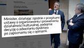 Ministerstwo Kultury rozważa zwolnienie dyrektora Muzeum Narodowego