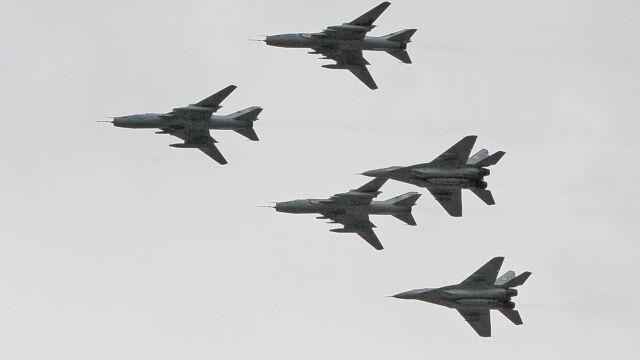 Pierwszy MiG-29 wzbił się w powietrze.