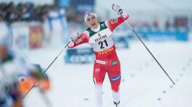 Norweska mistrzyni nie dała szans rywalkom i dogoniła Hermanna Maiera
