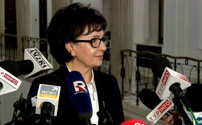 Witek: nikt nie powiedział, że dymisja prezesa NIK będzie w piątek, czekamy do przyszłego tygodnia