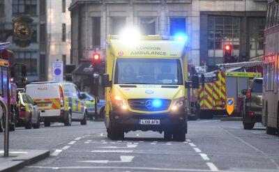 Strzały na moście w Londynie. Napastnik unieszkodliwiony