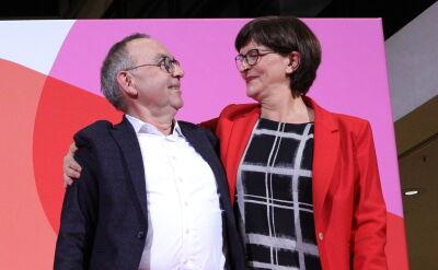 Nowe rozdanie we współrządzącym SPD