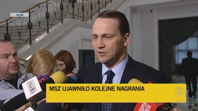 Sikorski: Proszę więcej nie grać katastrofą smoleńską (TVN24)