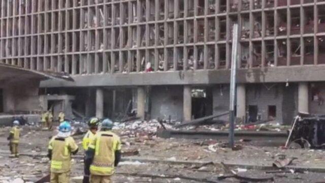 Oslo po eksplozji (Reuters)