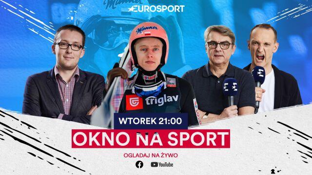 """Dawid Kubacki otworzył """"Okno na sport"""" w Eurosporcie"""