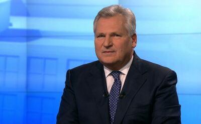 Kwaśniewski: to źle, że w parlamencie nie ma lewicy