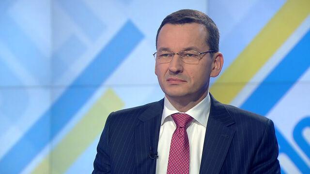 """Mateusz Morawiecki był gościem """"Jeden na jeden"""""""