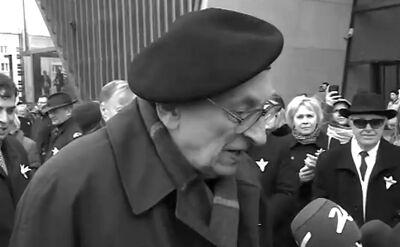 Szewach Weiss wspomina Wladysława Bartoszewskiego