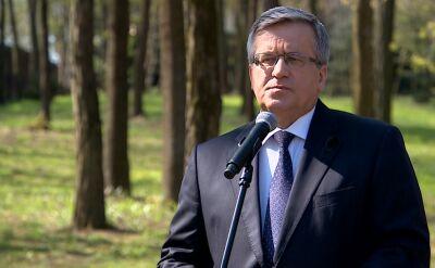 Bronisław Komorowski wspomina Władysława Bartoszewskiego