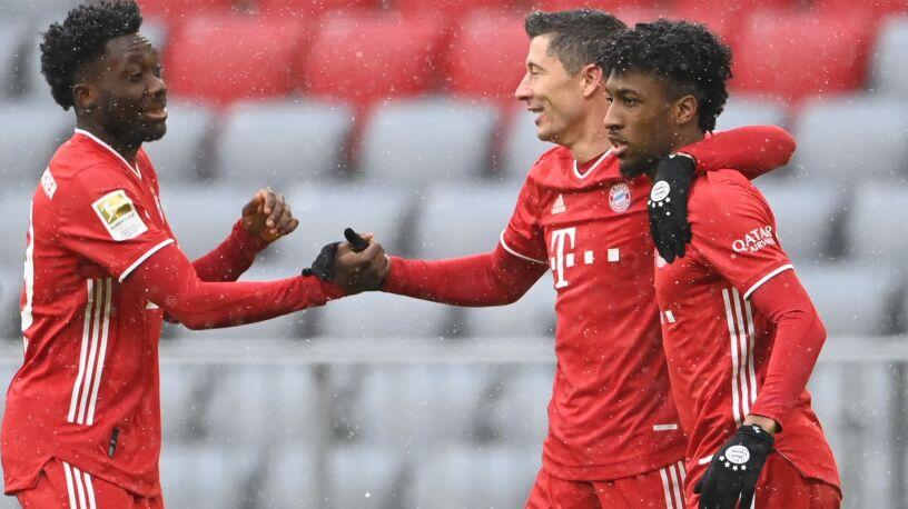 Bayern się przełamał. Lewandowski z kolejnym rekordem