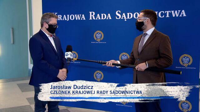 Jarosław Dudzicz o pracy w KRS