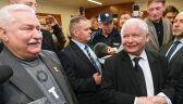 Spotkanie Wałęsy i Kaczyńskiego przed rozprawą