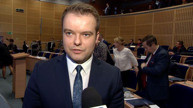 Były rzecznik rządu przewodniczącym sejmiku województwa małopolskiego