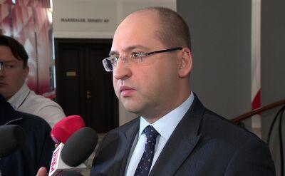 Adam Bielan: Zrealizowaliśmy zabezpieczenie TSUE w stu procentach